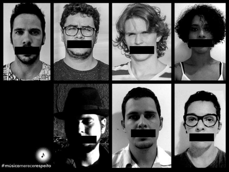 Movimento #MúsicaMereceRespeito (Foto: Reprodução/ Facebook)