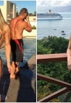 Michelly Crisfepe ganha oito quilos após férias: 'Comi sem medo'