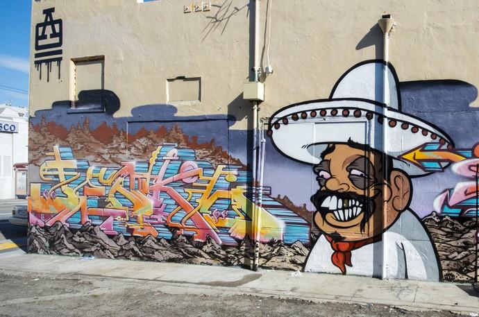 Graffiti tipo personagem ou boneco  (Foto: Reprodução Internet)