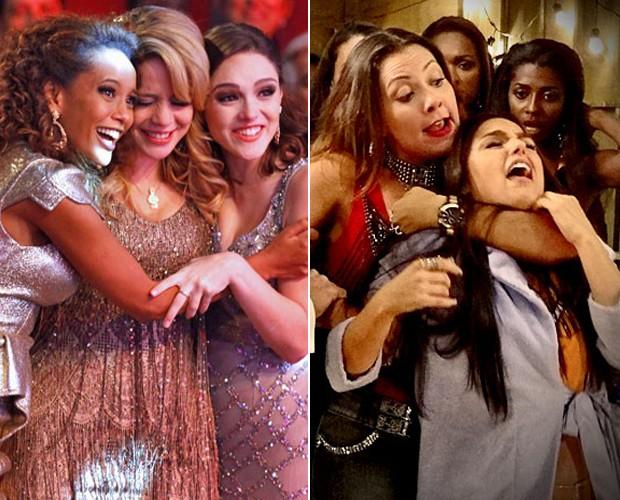 As mulheres brilharam na telinha da Globo com personagens hilárias (Foto: Mais Você / TV Globo)