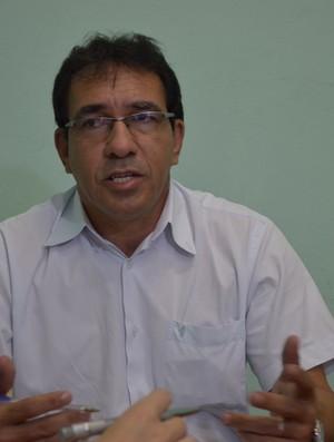 Gilson Dória, diretor técnico da Federação Sergipana de Futebol (Foto: Felipe Martins / GLOBOESPORTE.COM)