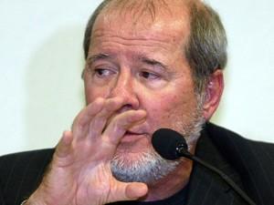 O marqueteiro da campanha de Lula, Duda Mendonça, que admitiu ter recebido pagamento de campanha a partir de paraísos fiscais (Foto: Eraldo Peres/AP)
