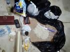 Casal é preso com maconha e mais de 500g de pasta base de cocaína