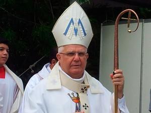 Arcebispo de Vitória, Dom Luiz Mancilha Vilela, vai a Roma (Foto: Amanda Monteiro/ G1 ES)