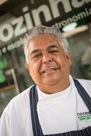 Chef Carlos Ribeiro (Foto: Luna Garcia)
