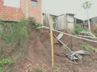 Famílias vivem em área com risco de desabamento em bairro de Piracicaba