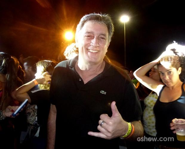 O ator Eduardo Galvão também passou por lá (Foto: SuperStar / TVGlobo)