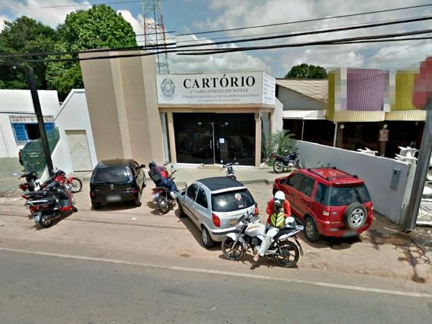 1º Tabelionato de Notas de Rio Branco (Foto: Reprodução/Google Maps)
