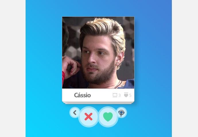 App_Cássio (Foto: Big Brother Brasil / Gshow)