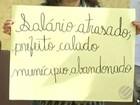 Servidores da saúde de Parauapebas protestam contra atrasos no salário