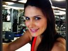Natália Guimarães volta a malhar após ter gêmeas: 'Alforria da médica'