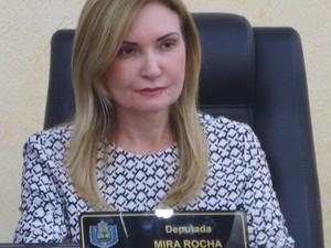 Mira Rocha é acusada pelo MP Eleitoral do Amapá (Foto: Divulgação/Decom/Alap)