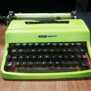 O 'laptop' de antigamente (Foto: Edivaldo Dondossola/RBS TV)