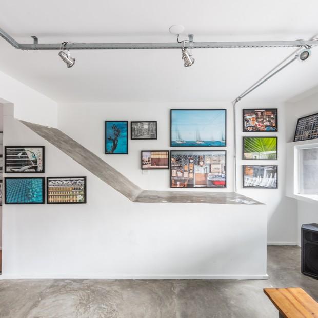 A área interna da nova galeria fotográfica de São Paulo, Müur Studio  (Foto: Bruno Contin)