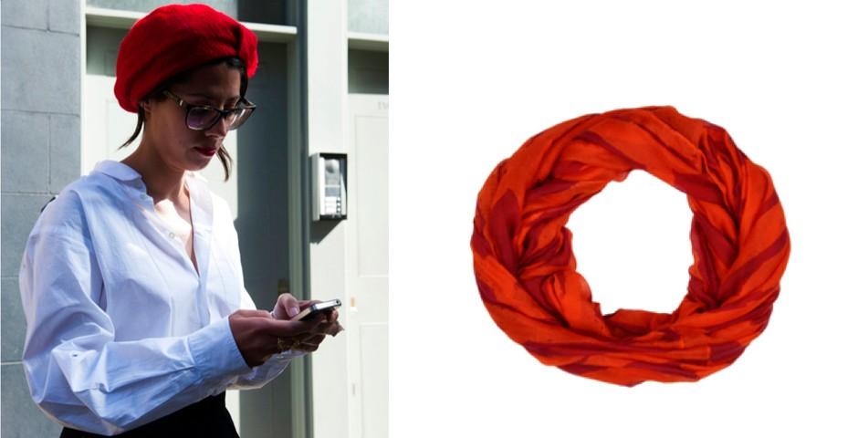 Estilo turbante! Aposte em cores fortes para compor um look básico. Lojas Americanas, R$ 45,90