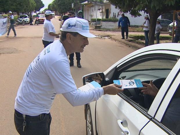 Semana da Água iniciou nesta segunda-feira, 16 e vai até o próximo domingo, 22 (Foto: Reprodução/ TV Rondônia)