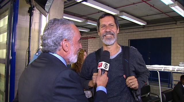 Eduardo Jorge fala sobre expectativa para o debate da TV Globo