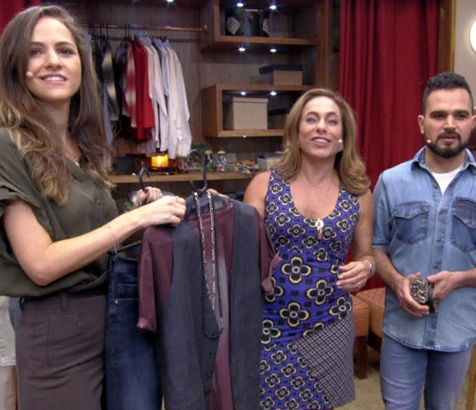 Consultora de moda Flávia Piña deu várias dicas (Foto: TV Globo)