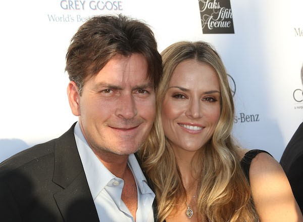 Charlie Sheen e Brooke Mueller foram casados entre 2008 e 2011 (Foto: Getty Images)
