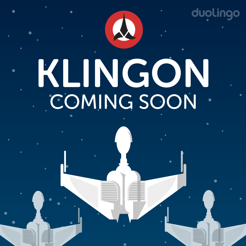 O Duolingo vai oferecer um curso de Klingon