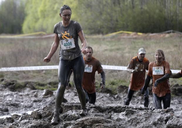 Competição foi realizada em Tukums, na Letônia (Foto: Ints Kalnins/Reuters)