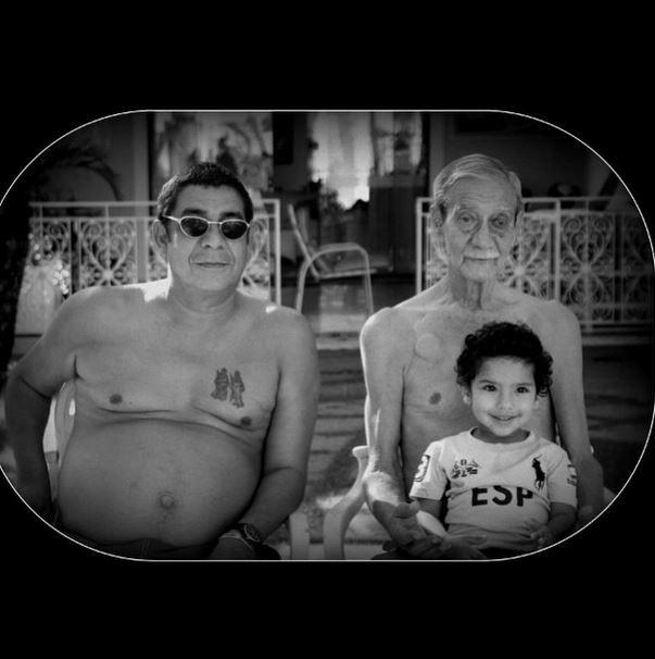 Zeca Pagodinho e família (Foto: Instagram/Reprodução)