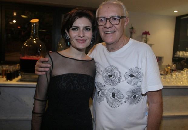 Arieta Corrêa e Ney Latorraca (Foto: Leo Franco/AgNews)