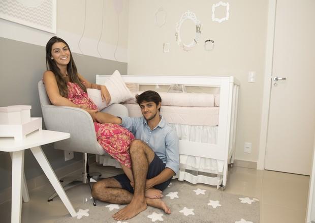 Felipe Simas e Mariana  (Foto: Divulgação)