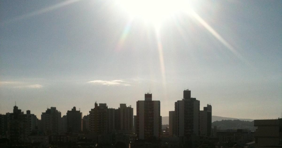 Sensação de calor chega a 43ºC em cidades catarinenses nesta ... - Globo.com