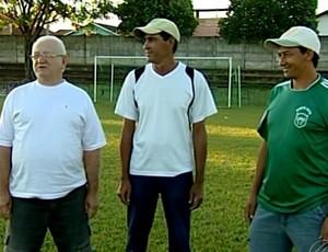 Representantes de Ponte Alta, Amadorão de Uberaba (Foto: Reprodução / Tv Integração)