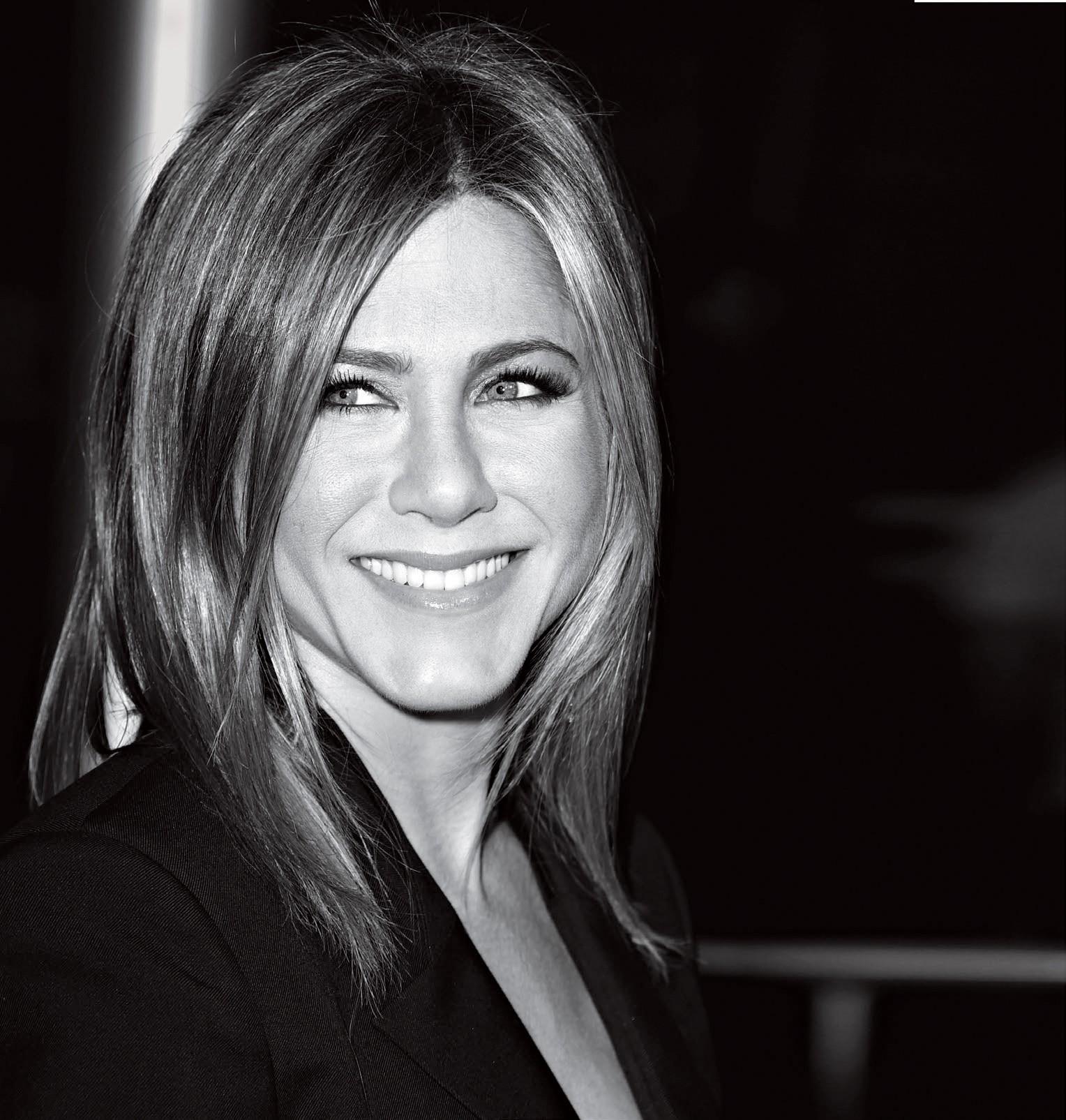 Jennifer Aniston revela o segredo por trás de suas cobiçadas madeixas