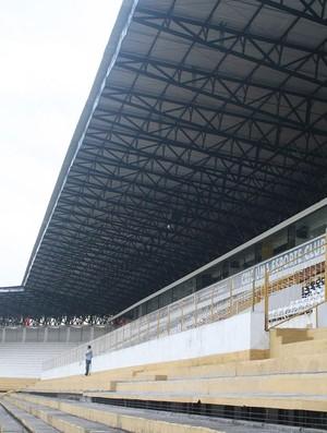 Reforma estádio Heriberto Hulse, Criciúma (Foto: Fernando Ribeiro / Criciúma E. C.)