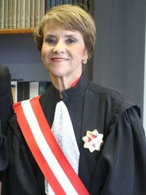 A ministra Delaíde Miranda Arantes, de 62 anos (Foto: Delaíde Miranda Arantes/Arquivo Pessoal)