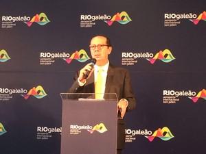 Luiz Rocha, presidente do RIOgaleão (Foto: Matheus Rodrigues)