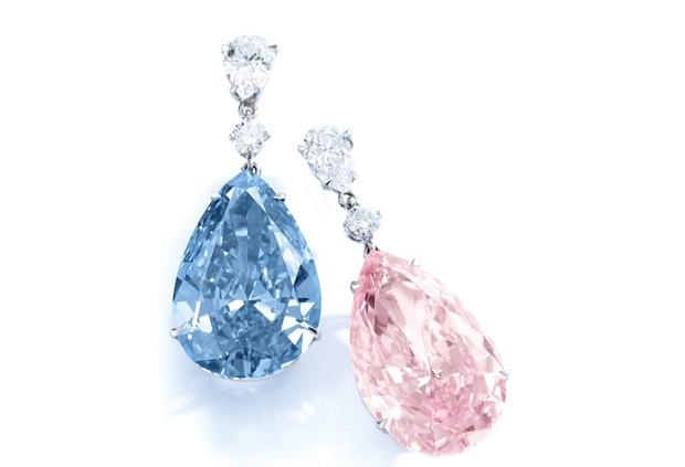 Diamantes Apollo & Artemis (Foto: Divulgação Sotheby's)