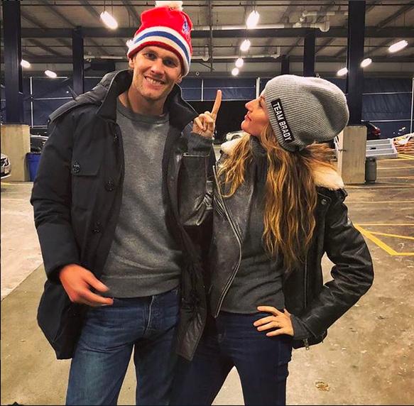 Tom Brady e Gisele Bündchen (Foto: Instagram)