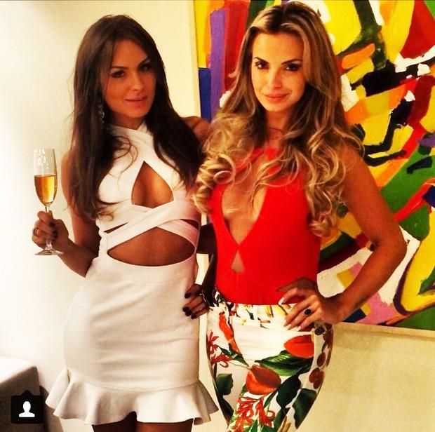 Veridiana e Fernanda Lacerda (Foto: Reprodução Instagram)