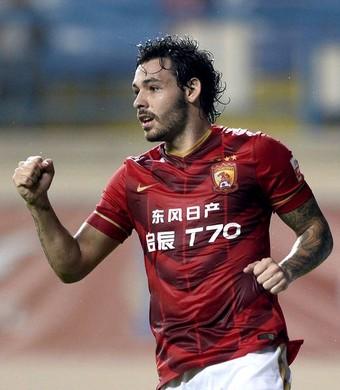 Ricardo Goulart, Guangzhou Evergrande (Foto: sina.com)
