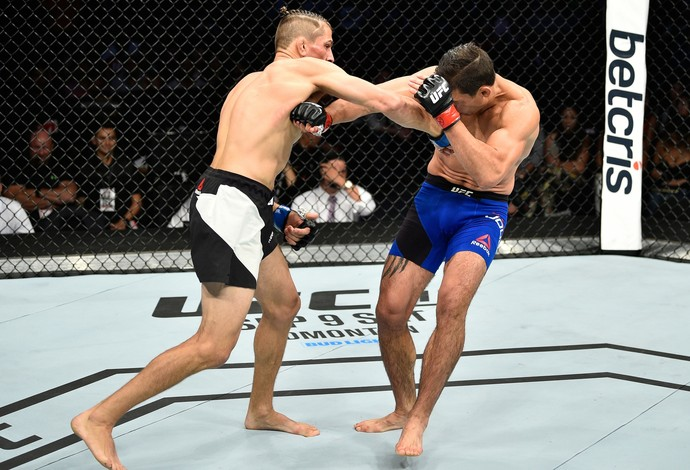 Niko Price x Alan Jouban UFC México (Foto: Getty Images)