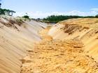 Vala para escoar enchente causa danos à reserva no ES, diz órgão