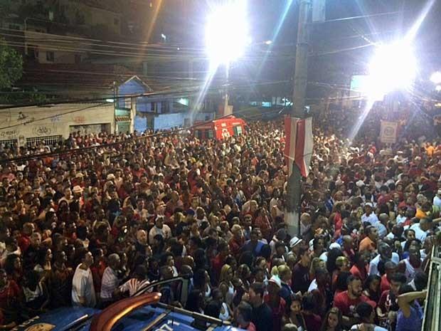 Segundo padre, cerca de 150 mil pessoas são esperadas. (Foto: Janaína Carvalho / G1)