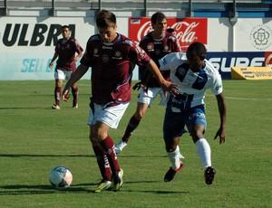 Caxias contra o Cruzeiro (Foto: Daniel Rufatto/Divulgação, Caxias)