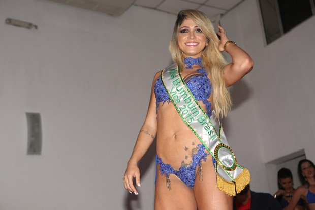 Miss Bumbum - segundo lugar (Foto: Iwi Onodera / EGO)