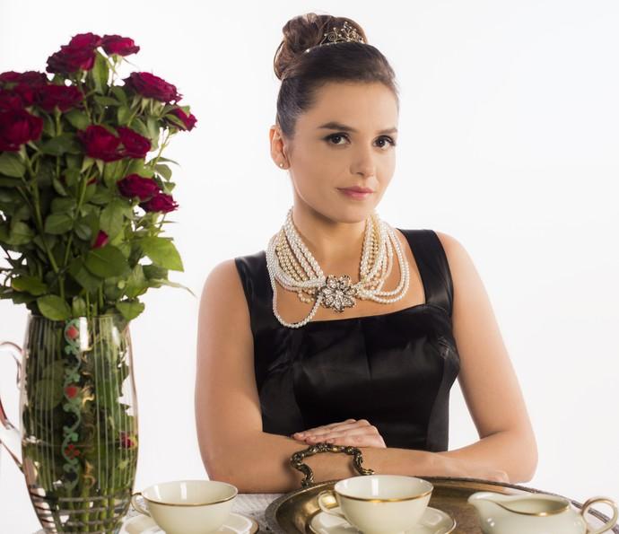 Monica Iozzi se inspirou em musas do cinema para ensaio  (Foto: Inácio Moraes/ Gshow)