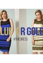 'Fiquei chocada', diz modelo de anúncio do vestido 'polêmico'
