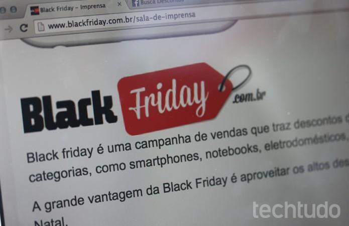 e75edf7ec Veja como denunciar páginas e ofertas na Black Ffriday (Foto  Isabela  Giantomaso TechTudo