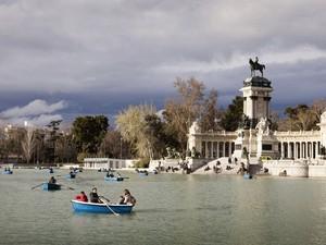 Parque del Retiro, em Madri (Foto: ETC/Divulgação)