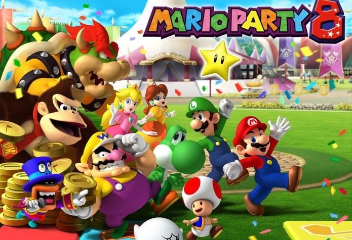 Mario Party 8 (Foto: Divulgação)