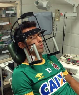 Nenê Protetor Bucal Exames (Foto: Reprodução Instagram)