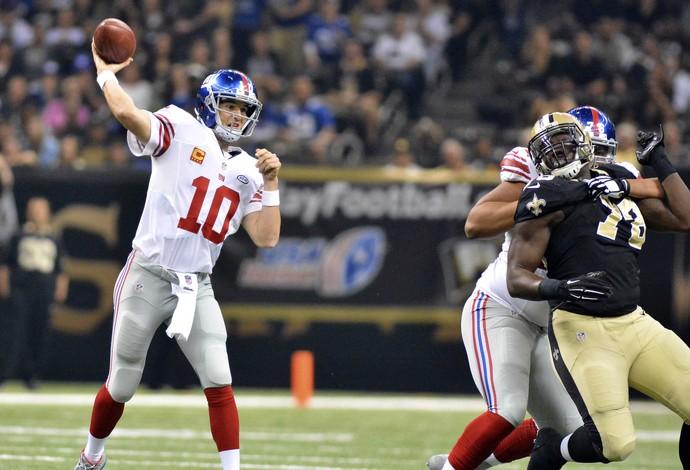NFL Eli Manning New York Giants (Foto: Reuters)